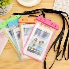 100 pcs Universal Waterproof Phone Case Phone Dry Bag Pouch Sensitive Touch Lot