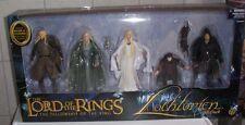 Lothlorien Gift Pack - Haldir - Celeborn - Galadriel - Frodo - Aragorn - Toybiz