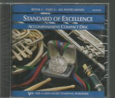 Standard of Excellence Accompaniment Compact Disc Book 2 Part 2 All Instruments