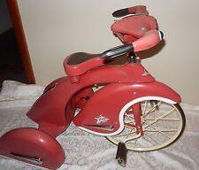 """26"""" Vintage Style 1930s - metal Tricycle - pink  """"Sky-King"""" 3 wheels"""
