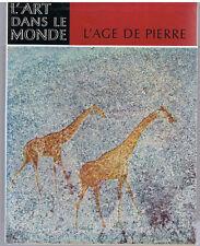 HANS-GEORG BANDI-BREUIL-ETC-L'ÂGE DE PIERRE40000 ANS D'ART PARIETAL LIVRE ANCIEN