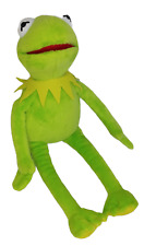 "Kermit the Frog Muppets 16"" Ty Beanie Buddy 2016 Plush Stuffed Toy Doll"