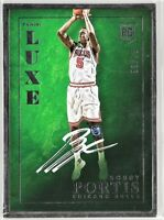 /75 2015-16 LUXE BOBBY PORTIS ROOKIE ON CARD AUTO AUTOGRAPH BULLS RC METAL FRAME