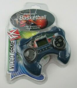 NIP Toy Quest Electronic Basketball LCD Video Game FX Digital Sound Sealed