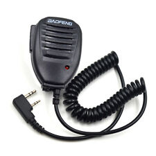 2-Pin Speaker Mic for BAOFENG GT-3 BF-F8HP DM5R Quansheng TG-UV2 TG-K4AT Radio