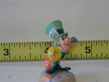 MAD HATTER Alice In Wonderland Fairy Garden Dollhouse Miniature Figure Models