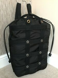 DUNHILL BLACK RADIAL MK2 BACKPACK RETAIL MADE IN ITALY BNWT