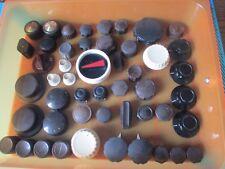 Vintage boutons pour tourne-disques, Amplificateurs, Radios. etc. années 1960. 1 bouton uniquement