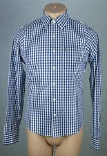 Original Abercrombie & Fitch Hombre Camisa talla s azul oscuro