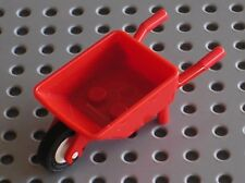 Brouette LEGO Minifig red Wheelbarrow ref 98288 / Set 41039 60018 4434 4206 4204