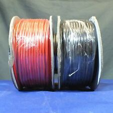 1 x Red  1 x Black Auto Cable / Wire  50M Single Reels automotive  9/0.3mm .65mm
