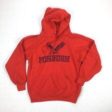 Vintage Sportswear Brand Super Soft Forbush Sweatshirt Red Medium Eagles 1387C