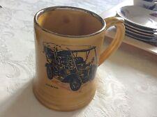 Wade MOKO tankard Veteran Car Club Sunbeam Tourer 1904 Small vintage pottery mug
