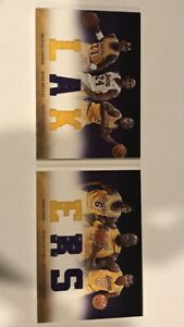 2012-13 Panini Preferred LAKERS Jersey Booklet /129  Kobe Bryant Shaquille