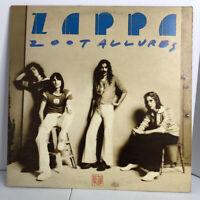 Frank Zappa Zoot Allures Vinyl Record Album EX / EX Burbank Palm Tree Labels LP
