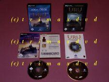 2x PC _ URU AGES BEYOND MYST & Uru the path of the shell incl. Uru to D 'ni _ Top