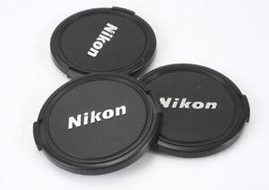 NIKON 62MM FRONT CAPS, PLASTIC BUTTON, LOT OF THREE/189436
