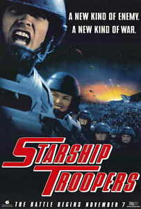 """STARSHIP TROOPERS Movie Poster [Licensed-New-USA] 27x40"""" Theater Size"""