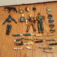 Vintage Lot of GI JOE Figures Body Parts-Torso, Hips, Legs - Hasbro 80s ARAH