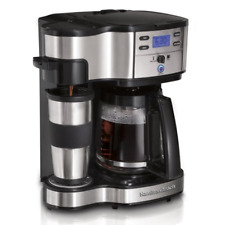 Hamilton Beach 2-Way Brewer Coffee Maker, Single-Serve and 12-Cup Pot, 49980A☕️