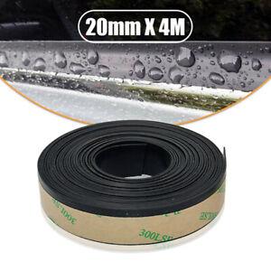 4M EPDM Rubber Seal Strip Car Side Window Glass Moulding Sealing Trim Waterproof