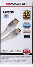 Monster HDMI Cable 4k Ultra HD 6ft with Ethernet - 60/120 Hz  Speed - 18Gbps