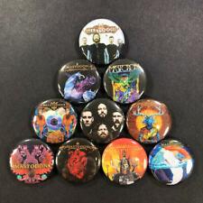 PENTAGRAM 70s heavy metal band pin button goth horror RARE