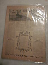 October 1, 1905  issue Farm and Home magazine Hand Sapolio