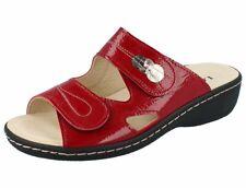 LONGO 1019301 Damen Pantolette cherry/Leder