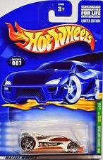 Hot Wheels 2001 Treasure Hunt Serie Avvoltoio #007 Bianco