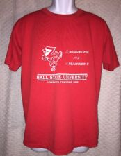 1989 Ball State University Corporate Challenge T-Shirt Size Adult Large