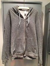 Graue Sweatshirtjacke von American Apparell ,Gr.S für Herren