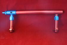 NEW Billet Aluminum Fuel Log Line for Holley 4150 Double Pumper Red Fits SBC BBC