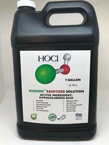 1Gallon Hudson Sanitizer Disinfectant Cleaner for ULV fogger and sprayer systems