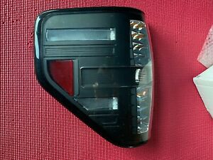 311170 Anzo Left Rear LED Smoked Tail And Stop Lamp Unit 2009-14 Ford F-150