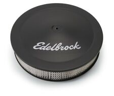 Edelbrock Air Cleaner Pro-Flo Series Round Steel Top Paper Element 14In Dia X 3
