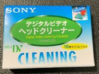 Sony mini DV Digital Video Cleaning Cassette dry type DVM4CLD2 From Japan