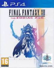 Final Fantasy XII 12 The Zodiac Age PS4 Game English New In Stock