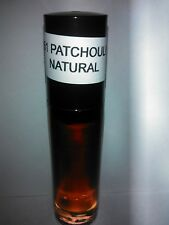 Patchouli Natural Body Oil 1/3 oz Roll-On Uncut Pure Natural Fragrance