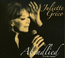JULIETTE GRECO - ABENDLIED  CD NEW+