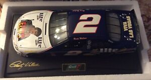 """REVELL COLLECTIBLES RUSTY WALLACE 1998 MILLER LITE """"ELVIS"""" FORD TAURUS 1:18SCALE"""