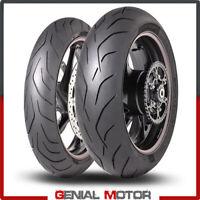 Dunlop SportSmart MK3 1207017 + 1905017 Set Gomme Moto Pneumatici Radiali 2019