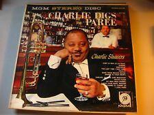 Charlie Digs Paree Charlie Shavers MGM Stereo Disc Record