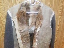 WWII GERMAN Wehrmacht Heer Rabbit Fur Coat Liner – Military Combat Jacket Tunic