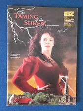 The Taming of the Shrew - Royal Shakespeare Company Programme 1995.