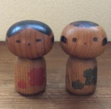 Sanpei Yamanaka Kokeshi  Writer Folk Crafts  3 set 0302   M