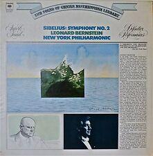 SIBELIUS: Symphony No. 2-NM1973LP BERNSTEIN/NY PHILHARMONIC