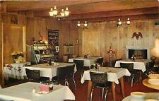 Honor Michigan~Money's Coffee Shop~Interior View~Juke Box~Kiwanis Banner~1960s