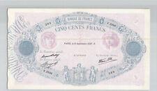 France 500 Francs 9.9.1937 V.2696 n° 67395369 Pick 88a