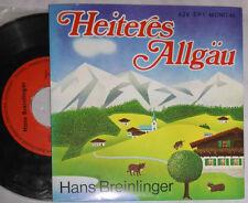 "HANS BREINLINGER HEITERES ALLGÄU 7 "" SINGLE"